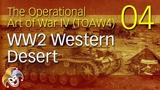 TOAW4 ~ WW2 Western Desert ~ 04 The Build up