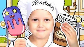 ПРОДАВЕЦ МОРОЖЕНОГО Как все начиналось От кофейни до собственного Супермаркета Видео для детей