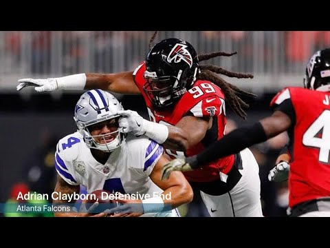 VIDEO: Adrian Clayborn on his bonus money and facing Seattle
