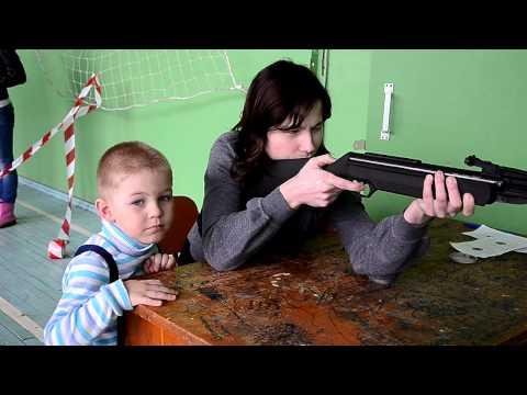 Соревнования по стрельбе из пневматической винтовки на приз Богородского райпо