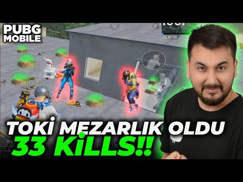 Download TOKİ MEZARLIK OLDU 33 KİLLS!! / PUBG MOBILE