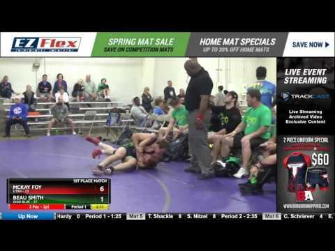 152 McKay Foy Utah vs Beau Smith Ohio Blue 8390841104