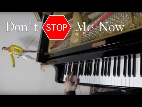 QUEEN - Don&39;t Stop Me Now - ♫ ♫ ♫  Piano Cover play by Ear by Fabrizio Spaggiari Aka Jazzy Fabbry