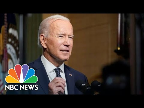 Biden Delivers Remarks On Russia   NBC News