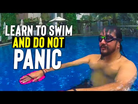 Adult LEARN to SWIM CONFIDENT & RELAXED in 1 Lesson * Become Water Safe for Beginners