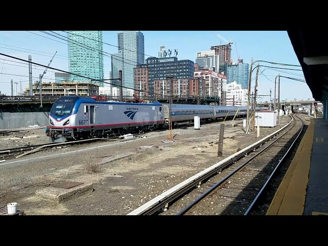 Amtrak Silver Meteor w/ Annapolis Diner