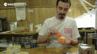 New diet for Mars500