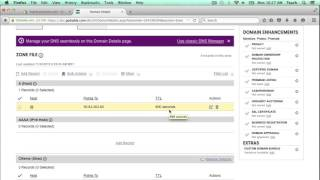 How to add A Record and CNAME DNS entries in GoDaddy domain to work with Shopify
