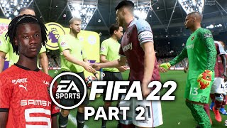 FIFA 22 West Ham CAREER MODE Part 2 - YOUNG TALENT (PS5 4K 60fps)