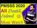 Gambar cover PMSSS 2020 New Special UpdateImportant QnA Session|Choice Filling TipsMust Watch🔥🔥