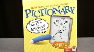 Pictionary Word Game Review | Mattel Toys & Games