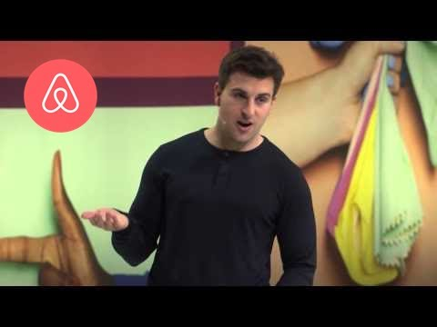 """Hosts are Heroes"" - Brian Chesky 