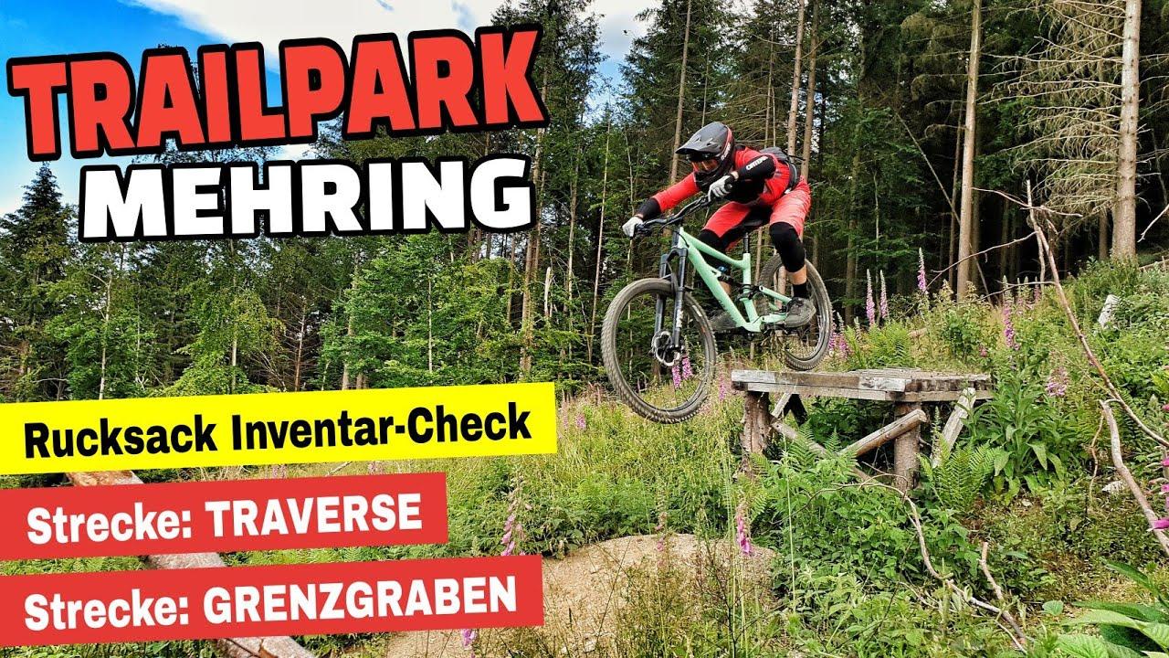Bike Rucksack Inventar-Check | Trailpark Mehring Trailcheck 2020 - Traverse & Grenzgraben | Leo Kast