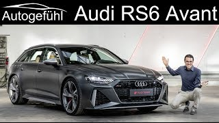 New Audi RS6 Avant REVIEW Exterior Interior - Autogefühl