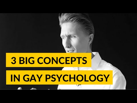 Psychology of a gay man