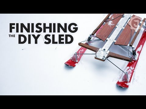 Final Assembly of the Ultimate DIY Snow Sled (3/4)