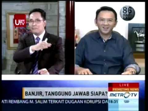 AHOK VS AHLI TATA KOTA Banjir Jakarta 2014 Tanggung Jawab Siapa