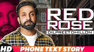 Iphone Text Story| Dilpreet Dhillon | Red Rose |Releasing On 14 Nov | Speed Records