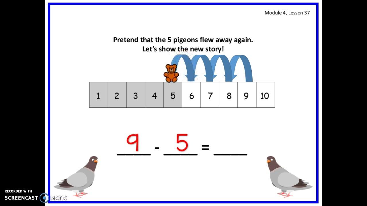 Eureka Math Kindergarten Module 4 Lesson 37