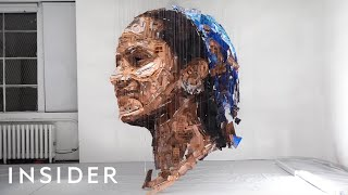 Illusion Sculptures Only Appear If You Stand In The Right Spot | Master Craft