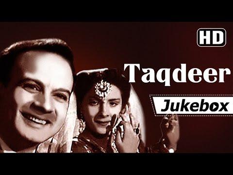 Taqdeer 1943 Songs | Nargis - Motilal - Chandra Mohan | Rafiq Ghaznavi | Shamshad Begum Songs HD