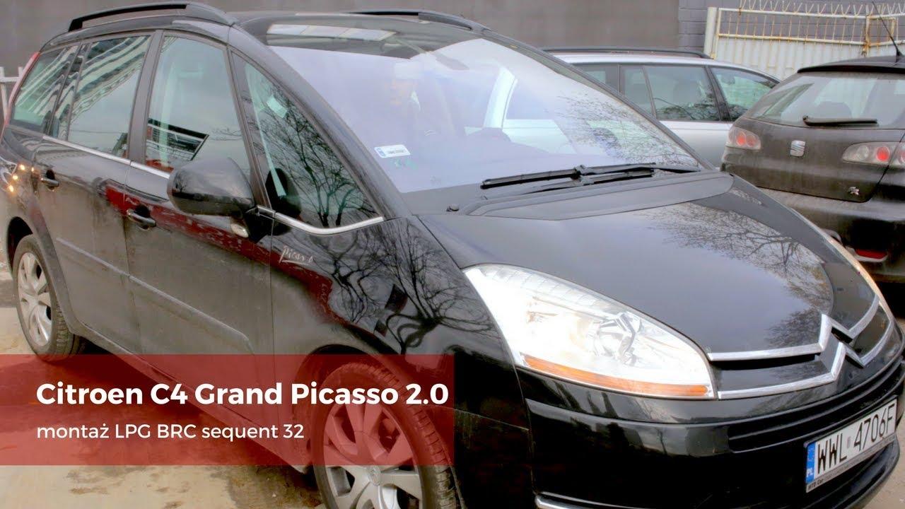 Montaż LPG Citroen C4 Grand Picasso BRC Sequent 32