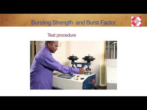 Bursting Strength  And Burst Factor