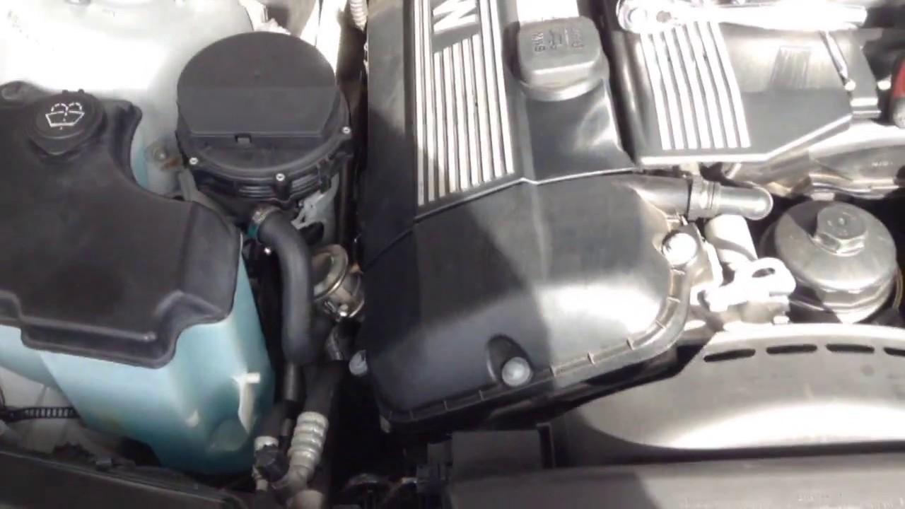 medium resolution of bmw 325i secondary air pump and egr valve test e46 m54 engine