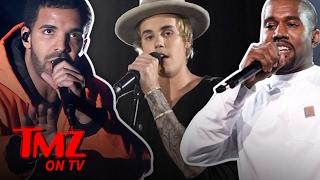 Kanye, Justin Bieber and Drake all have Grammy nominations but have...