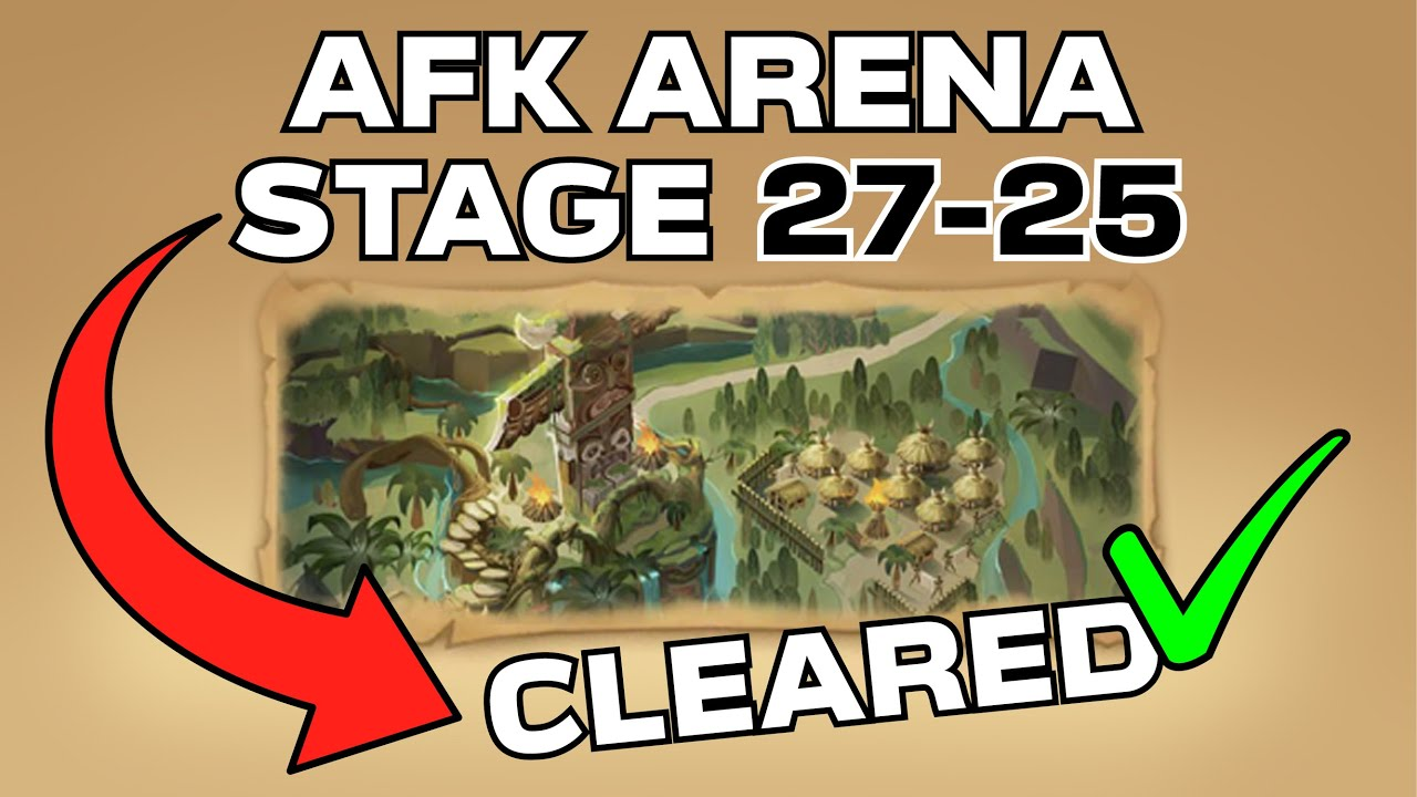 AFK Arena Stage 27-38 - YouTube