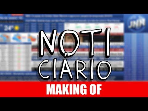 Making Of – Noticiário