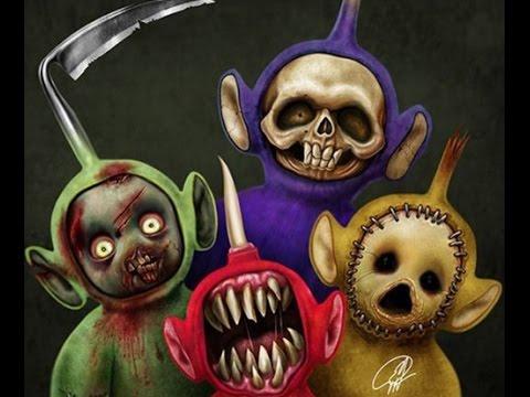 10 Creepy Cartoon Pictures 1