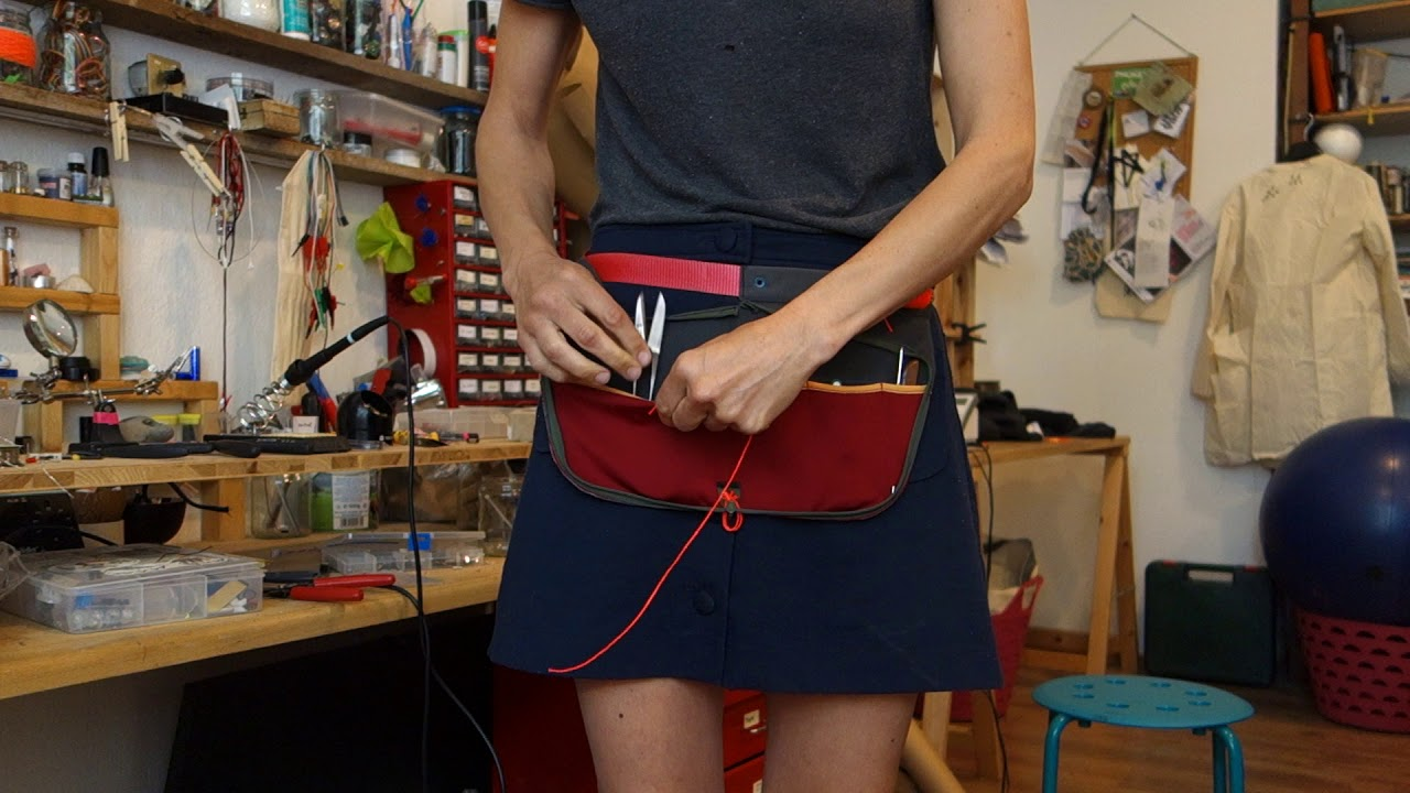 ALWAYS ON: unzip tool apron (first prototype)