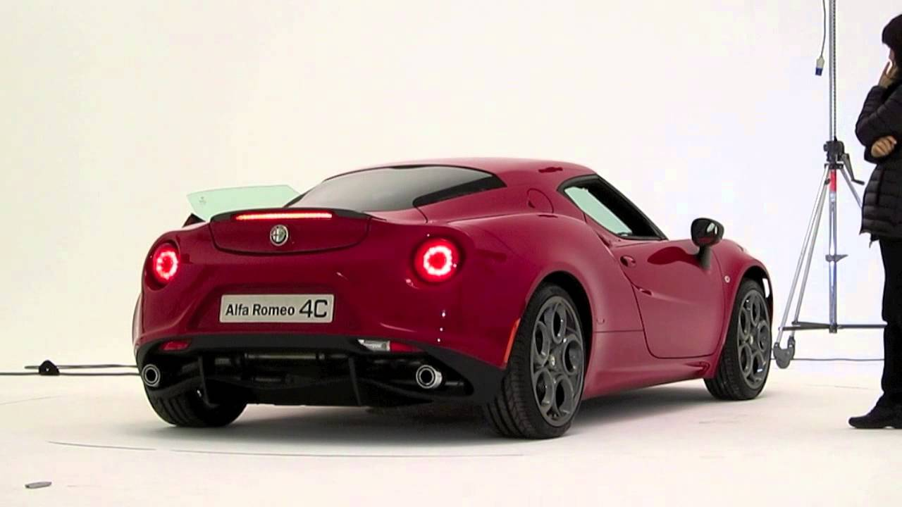 alfa romeo 4c - engine sound - youtube