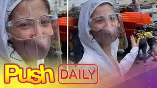 Donnalyn Bartolome, nagpadala ng rescue boats sa Marikina at Rizal | PUSH Daily