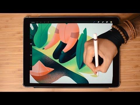 Paper Boat 🌿Illustration with iPad Pro