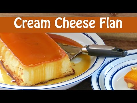 Easy Cheese Flan -- The Frugal Chef