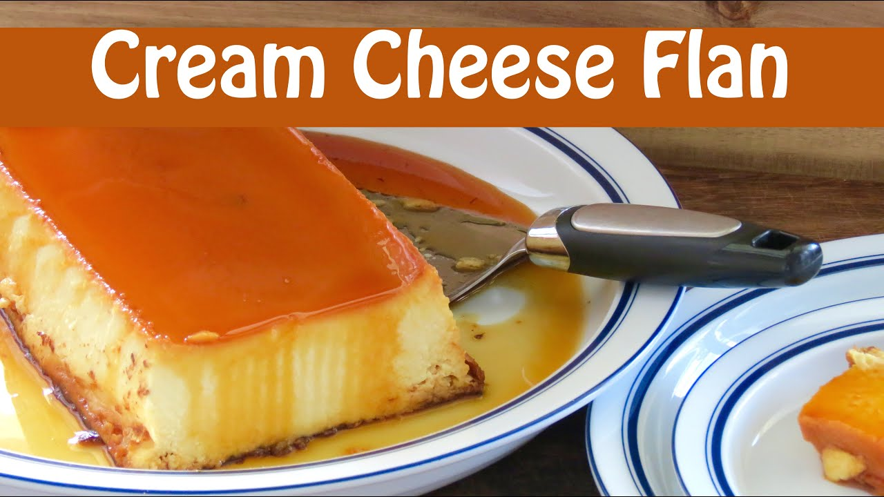 Easy Cheese Flan The Frugal Chef Youtube
