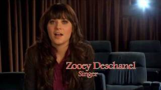 WINNIE THE POOH | Zooey Deschanel performs for Winnie The Pooh | Official Disney UK