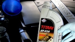 How To Change The Transmission Fluid On Your Mercedes Benz S500 722.6 Transmission