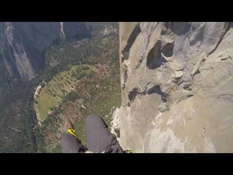 2,650' rappel off El Capitan in Yosemite, July 2016