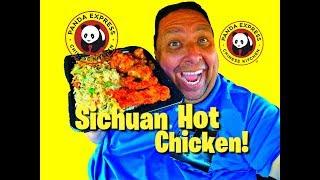 Panda Express® NEW Sichuan Hot Chicken Review!
