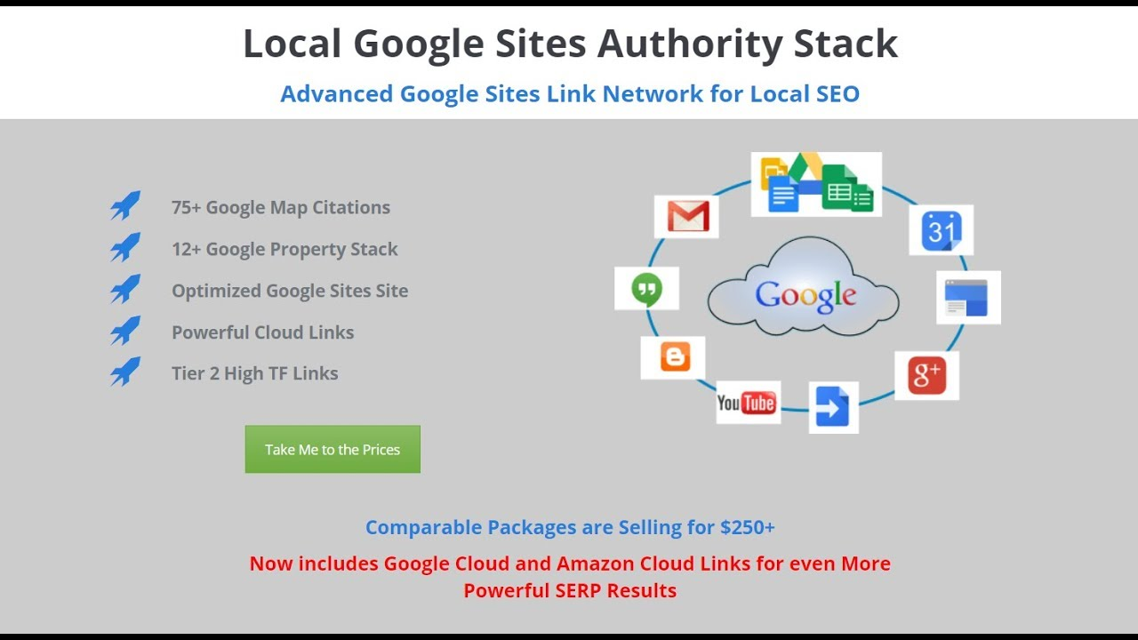 Local Authority Stack - Google Entity Network - Web 2 0 Ranker