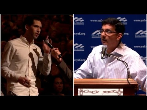 Liberal Student Insults Dinesh D'Souza And Gets Torn To Shreds