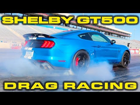 2020 Ford Mustang GT500 Drag and Track Testing * 10.6 @ 133 MPH 1/4 Mile