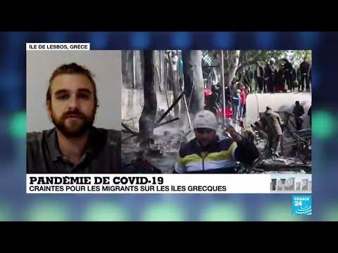Coronavirus - Covid-19: craintes pour les migrants sur les îles grecques