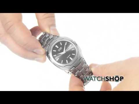 f85dbd29a Citizen Men's Titanium Eco-Drive Watch (BM6560-54H) - YouTube