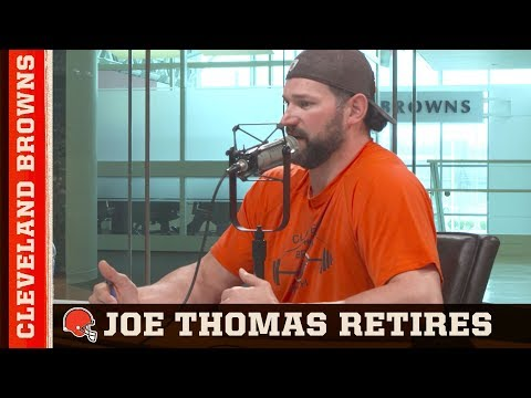 Joe Thomas announces retirement on 'The ThomaHawk '