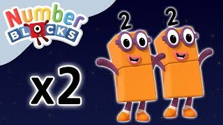 Numberblocks - Double Trouble | Learn to Count