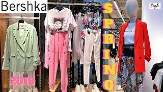 BERSHKA Spring 2019 Collection for Ladies * Men's * Shoes